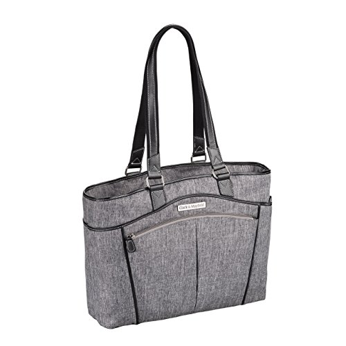 Clark & Mayfield Reed Laptop Handbag 17.3' (Slate)