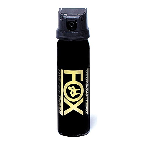 Personal Security Products Fox Labs, Pepper Spray - 3 oz Cone (Flip Top) 32FTMDB