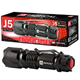 J5 Tactical V1-PRO Flashlight - The Original 300 Lumen Ultra Bright, LED Mini 3 Mode Flashlight